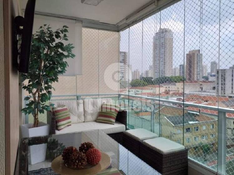 Apartamento na lapa com 105 mts 3 suites 1 closet, 2 vagas
