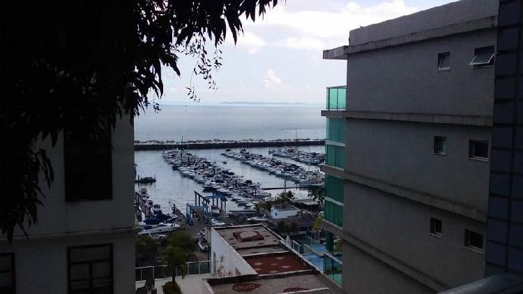 Apartamento para venda com 58m2, duplex, frontal a marina,