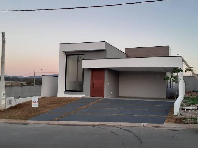 Casa térrea em condomínio - nova / itupeva-sp