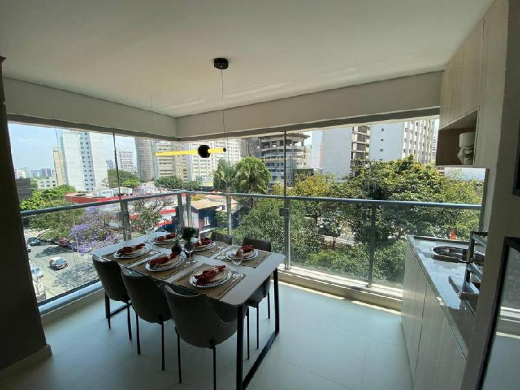 Gabell jardins - apartamentos de 2 quartos (1 suíte) com