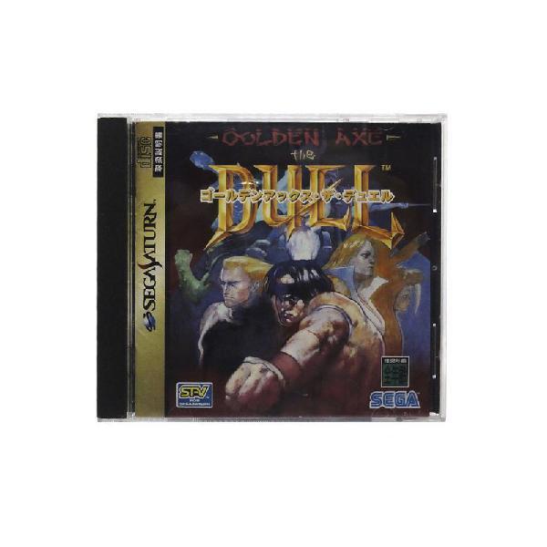 Jogo golden axe: the duel - sega saturn (japonês)