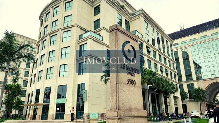 Sala comercial 36m² - le monde office barra da tijuca