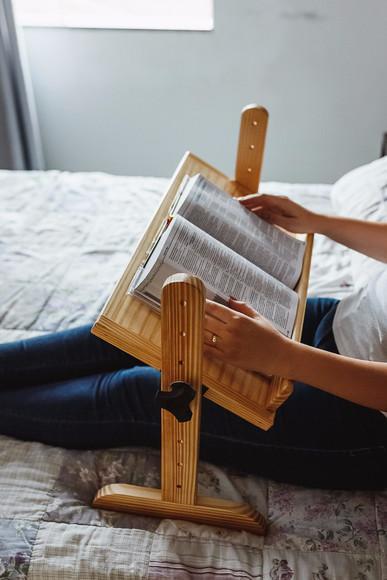 Suporte para leitura - livros/notebook - 60cm