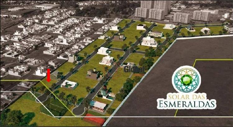 Terreno a venda no condomínio solar das esmeraldas em nova