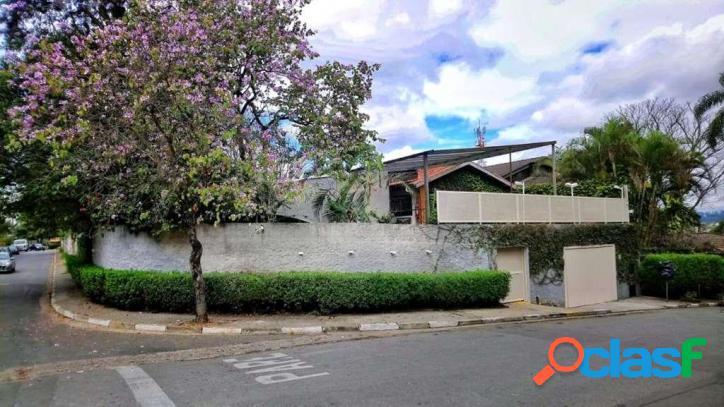Casa, 237 m² - venda por r$ 1.900.000,00 ou aluguel por r$ 8.300,00/mês - vila santo antônio - cotia/sp