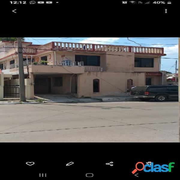 Se vende amplia casa col. ampliación unidad nacional. cd. madero tams. ❗