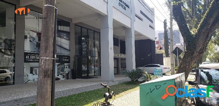 ䷶sala garden dupla comercial offices à venda boa vista - curitiba