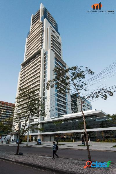 Sala comercial com garagem corporate centro cívico à venda - curitiba