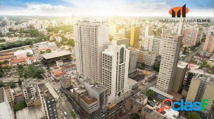 Sala hub business 48,46m² à venda com garagem - centro - curitiba