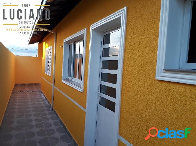Casa 2 dormitórios 60m2 no jardim nova esperança sjc