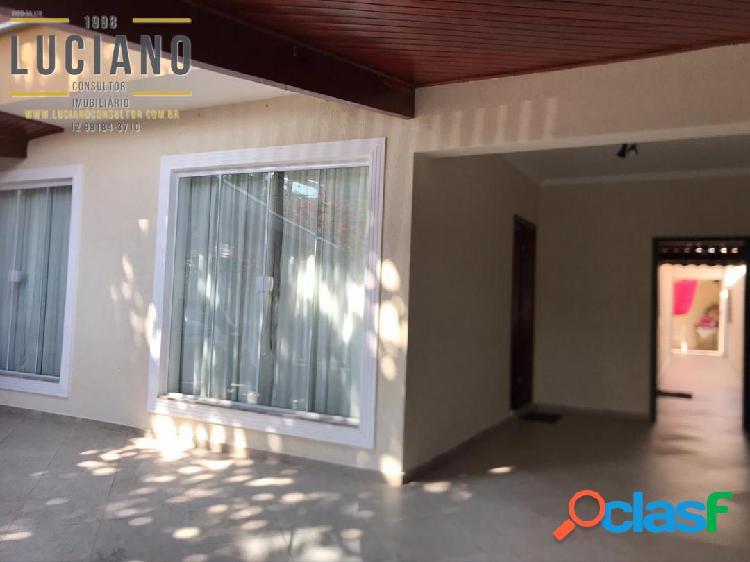 Casa 3 dormitórios suíte 140m2 no jardim satélite sjc