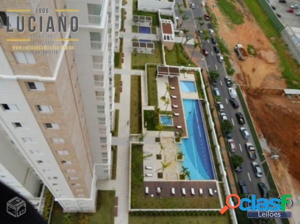 Apartamento3 dormitórios 2 suítes 125m2 no jardim aquárius royal park sjc