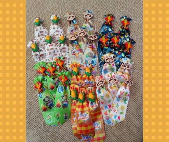 30 gravatas pet festa junina / são joão
