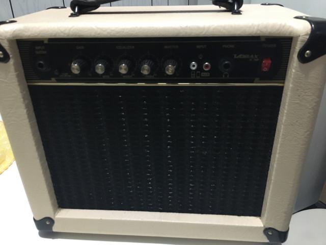 Amplificador guitarra borne 30v