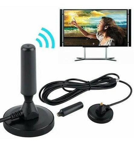 Antena digital hd interna e externa com cabo