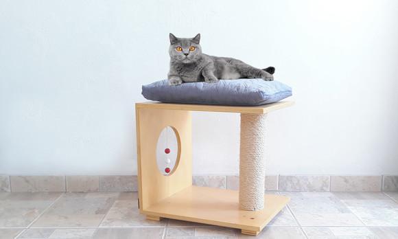 Arranhador para gatos em sisal - multi