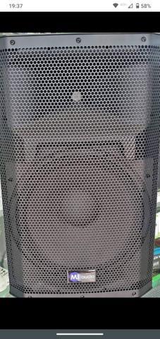 Caixa de som mj áudio profissional 600w