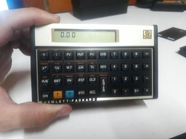 Calculadora hp 12c seminova