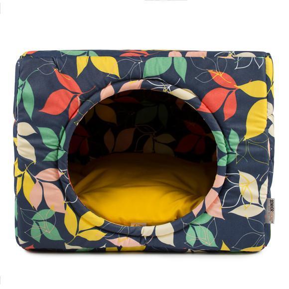 Cama gato e cachorro senhor bicho toca iglu premium - m 44