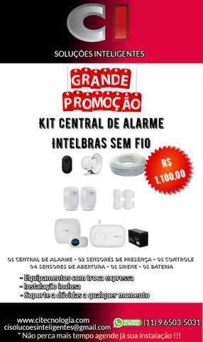 Central de alarme residencial ou comercial + instalação