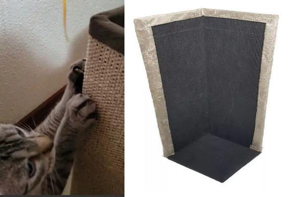 Kit 2 arranhadores protetor canto para sofá cama em sisal