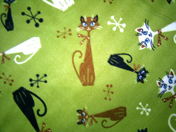 Mantinha soft tamanho grande (90cm x 80cm) gato
