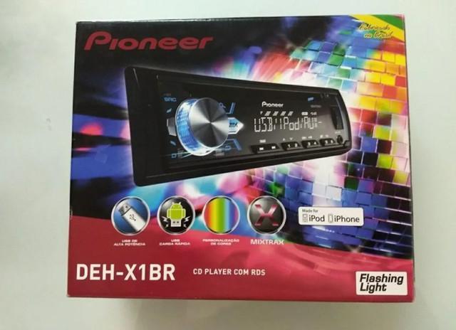 Som automotivo pioneer deh - x1br mixtrax