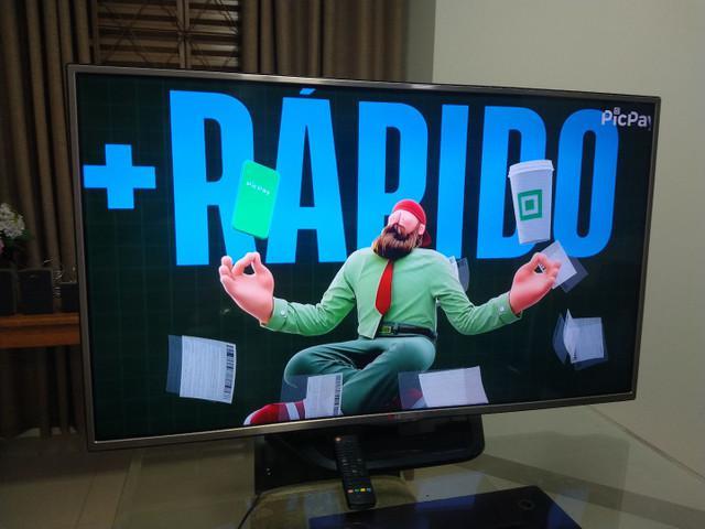 Tv lg 47 polegadas digital full hd led! não é smart!!!