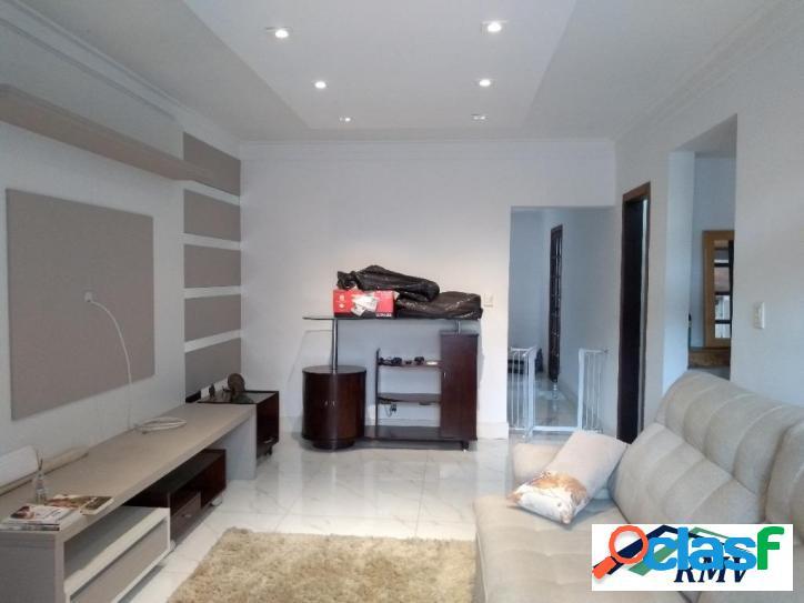 Sobrado com 3 dormitórios à venda, 161 m² - parque terra nova - são bernardo do campo/sp