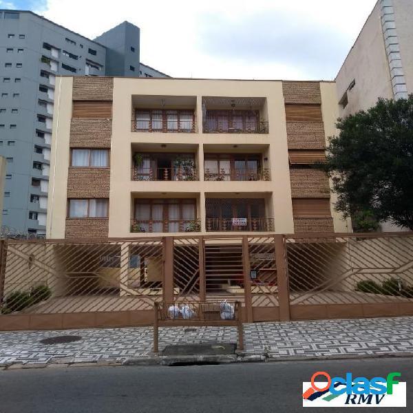 Apartamento com 2 dormitórios à venda, 73 m² - vila bastos - santo andré/sp