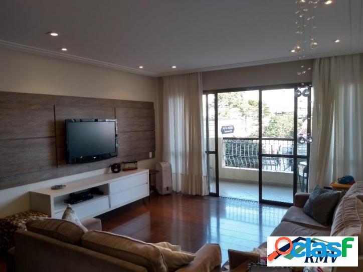 Apartamento com 3 dormitórios à venda, 140 m² no edifício villa lentini - centro - são bernardo do campo/sp