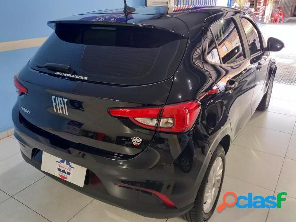 Fiat argo drive 1.3 8v flex preto 2018 1.3 flex