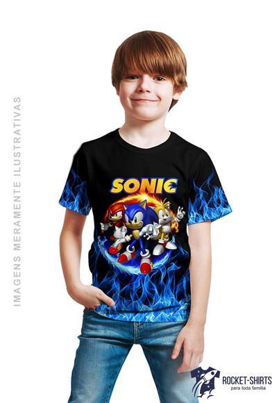 Camiseta infantil menino sonic ref.: 019