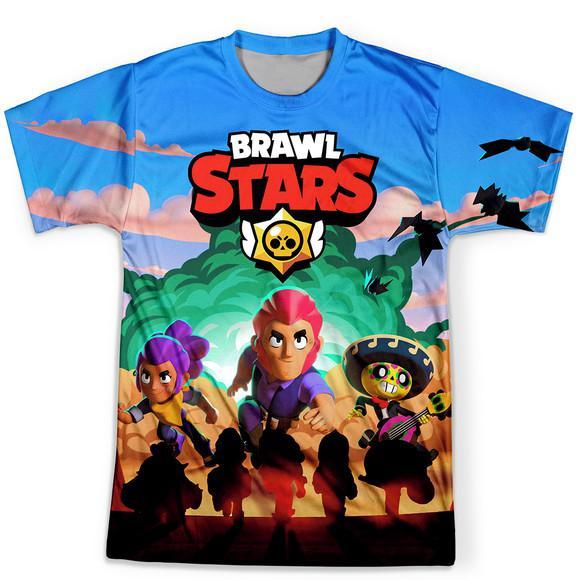 Camiseta masculina brawl stars md01