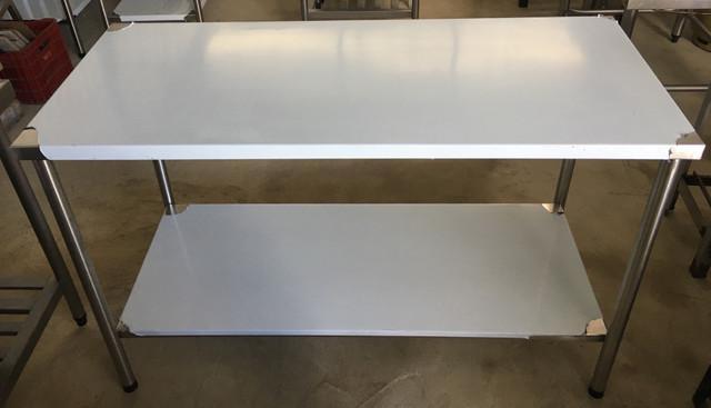 Mesa 100% inox nova industrial 1.92x60 r$850