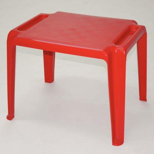 Mesa quadrada tramontina dona chica vermelho