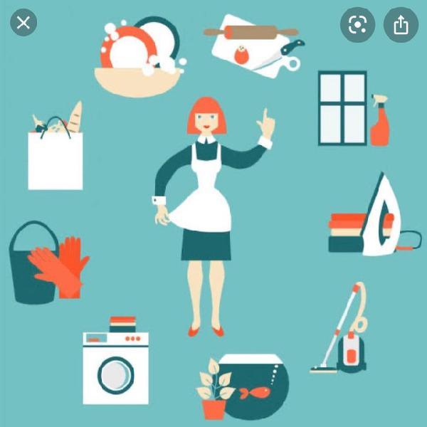 Procuro trabalho serviços gerais, doméstica, aux cozinha