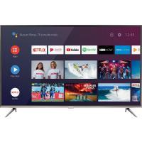 "Smart tv android led 50"" 4k hdr 3 hdmi 2 usb inteligência"