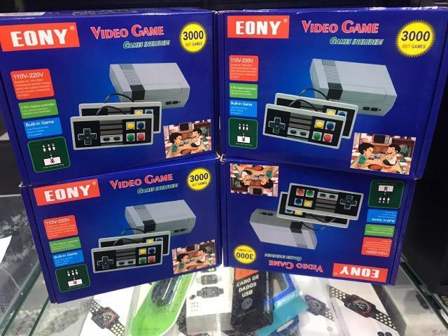 Vídeo game eony classics jogos retrô 3000 jogos