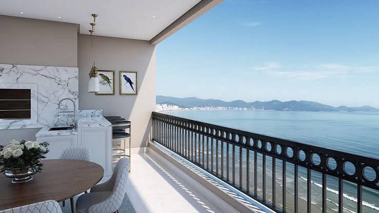Apartamento para venda 4 suítes frente mar! único, padrão