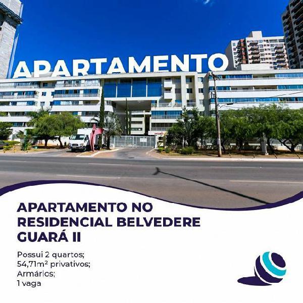 Vendo apartamento dois quartos no residencial belvedere