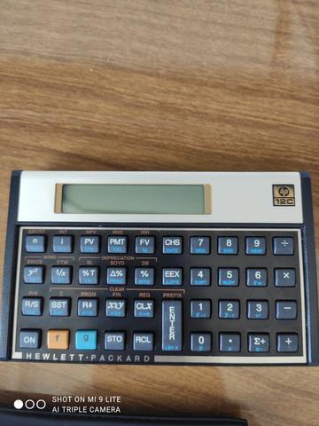 Calculadora financeira hp 12c - troco