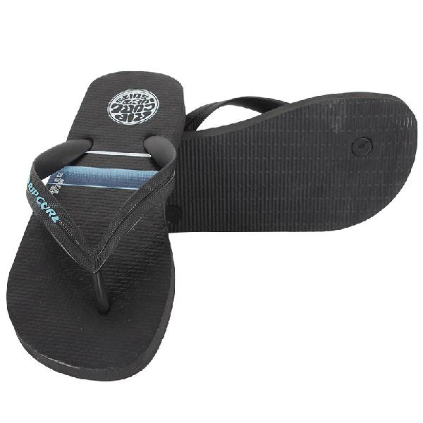 Chinelo rip curl stacked logo blue - surf alive