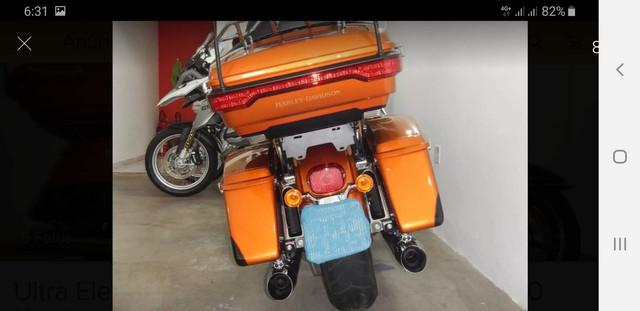 Harley davidso ultra glide limit