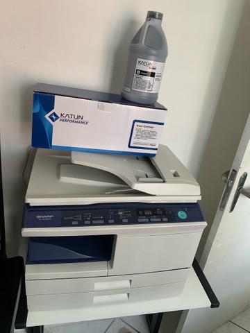 Impressora multifuncional sharp - máquina de xerox completa