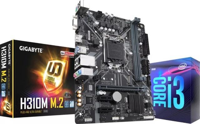 Kit novo i5 10400f + placa mãe gamer