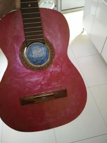 Pesonaliso violão, mesas, bancos, com resina epóxi