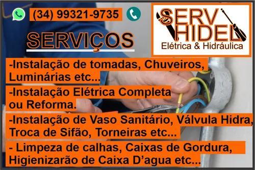 Serviços de elétrica e hidráulica