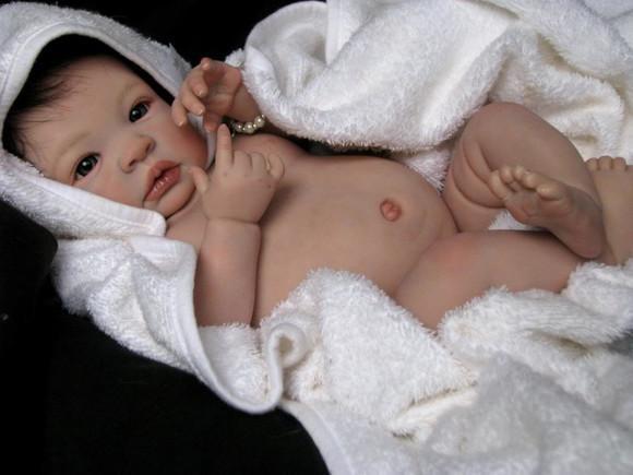 Bebe reborn c/ placa de barriga vinil siliconado maria julia