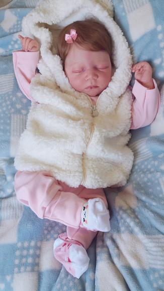 Bebe reborn johanna corpo inteiro